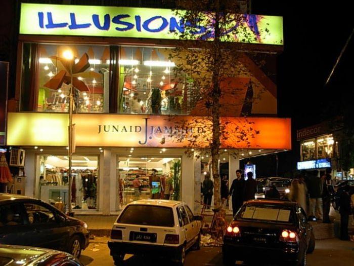 7 Marla Commercial Shop for Rent in Karachi Shahbaz Commercial Area