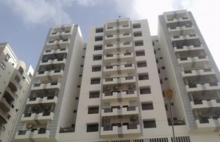 10 Marla Apartment for Sale in Karachi Bahria Apartments