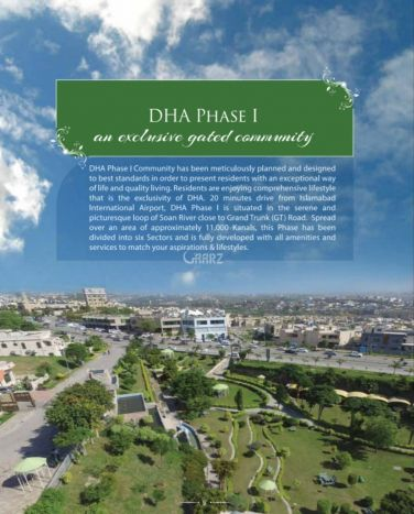 500 Square Yard Residential Land for Sale in Islamabad DHA Phase-1