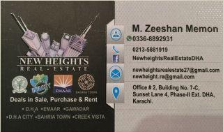 1000 Square Yard Residential Land for Sale in Karachi Khayaban E Shajjar
