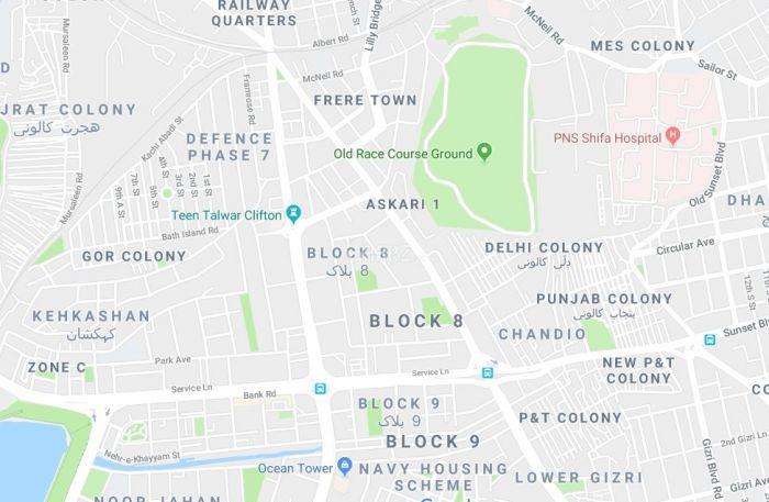 1560 Square Feet Apartment for Sale in Karachi Clifton, Block-8