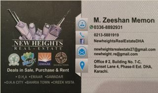 200 Square Yard Residential Land for Sale in Karachi DHA City