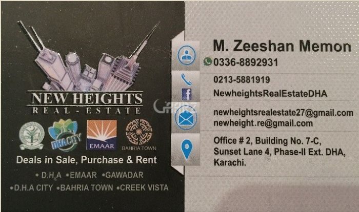 3760 Square Feet Apartment for Rent in Karachi DHA Phase-8 Creek Vista