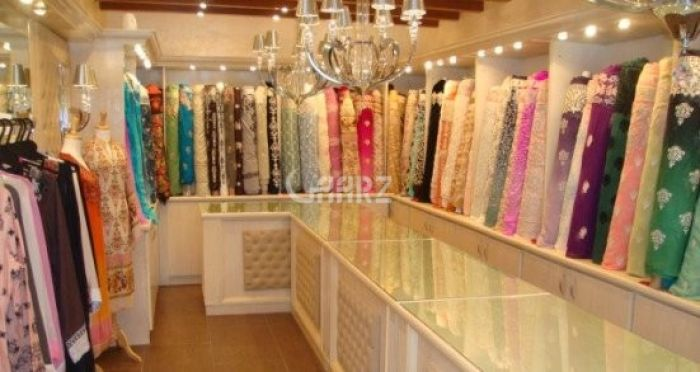 444 Square Feet Commercial Shop for Rent in Karachi DHA Phase-6