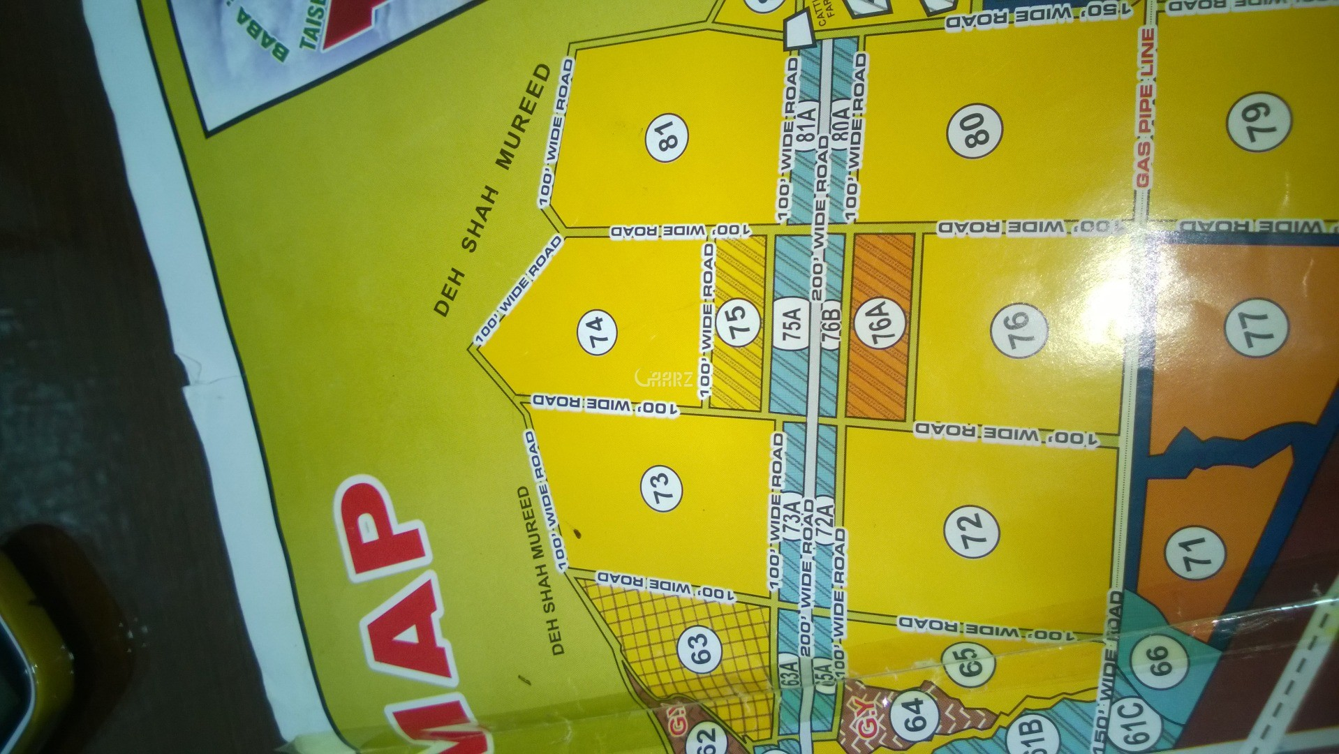 120 Square Yard Plot for Sale in Taiser Town Karachi for Rs  7 00