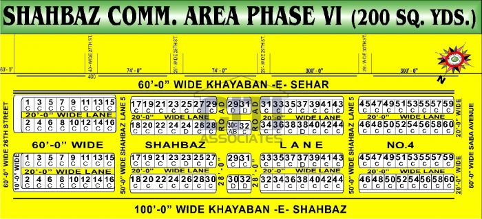 200 Square Yard Commercial Land for Sale in Karachi Shahbaz Commercial Area