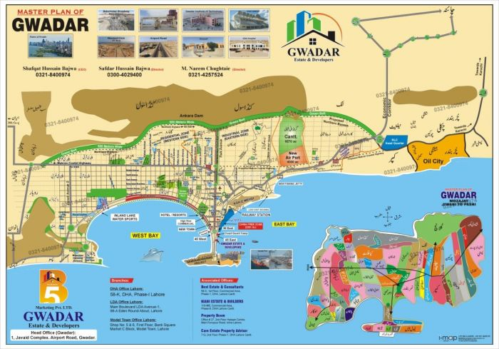 40 Kanal Commercial Ware House for Sale in Gwadar Mouza Chib Kalmati