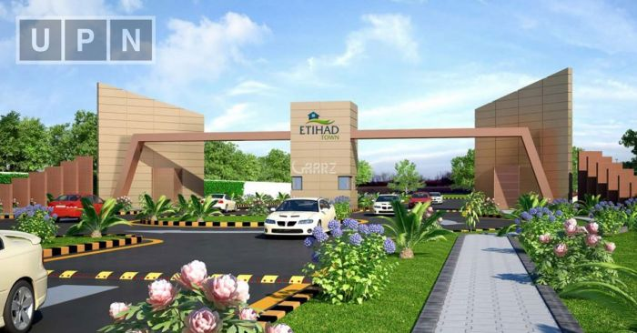 5 Marla Plot File for Sale in Lahore Etihad Town