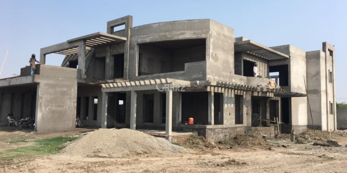 54 Marla Grey Structure House for Sale in Rawalpindi Bahria Garden City