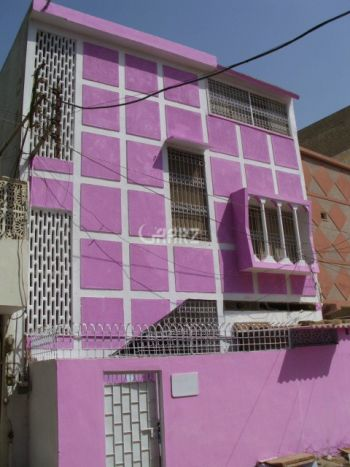 96 Square Yard House for Sale in Karachi Salman Farsi Society Malir Halt