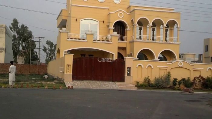 1 Kanal House for Rent in Lahore Valencia Block H