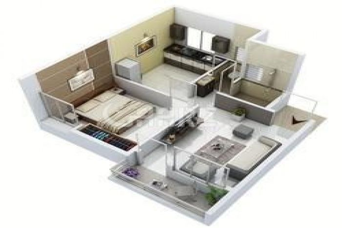540 Square Feet Apartment for Sale in Karachi Delhi Colony No-2