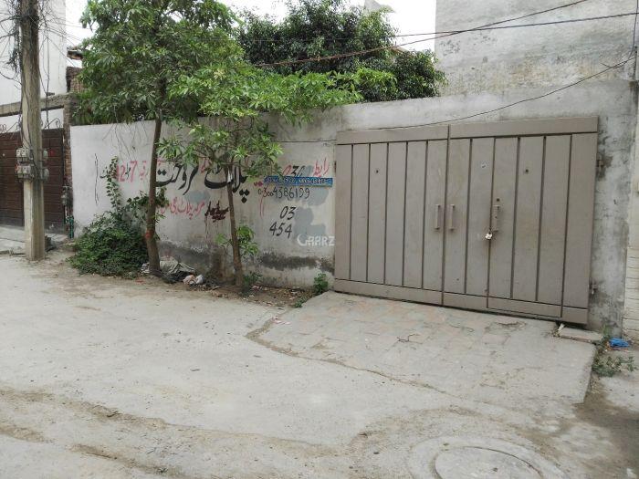 4.5 Marla Plot for Sale in Lahore Taj Bagh