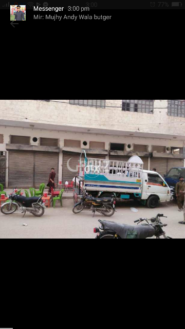 200 Square Yard Commercial Building for Sale in Manzoor Colony