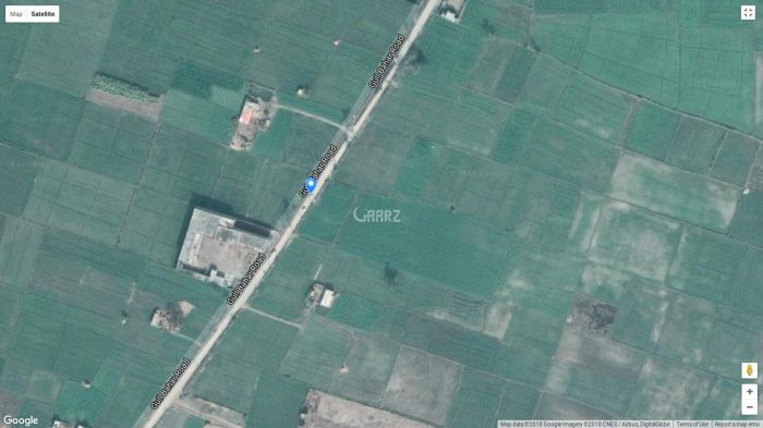 24 Kanal Commercial One Acre Road Front Land for Sale in Sialkot Ghalib Road