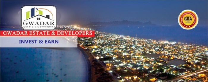 100 Kanal Commercial Land for Sale in Gwadar Marine Dr