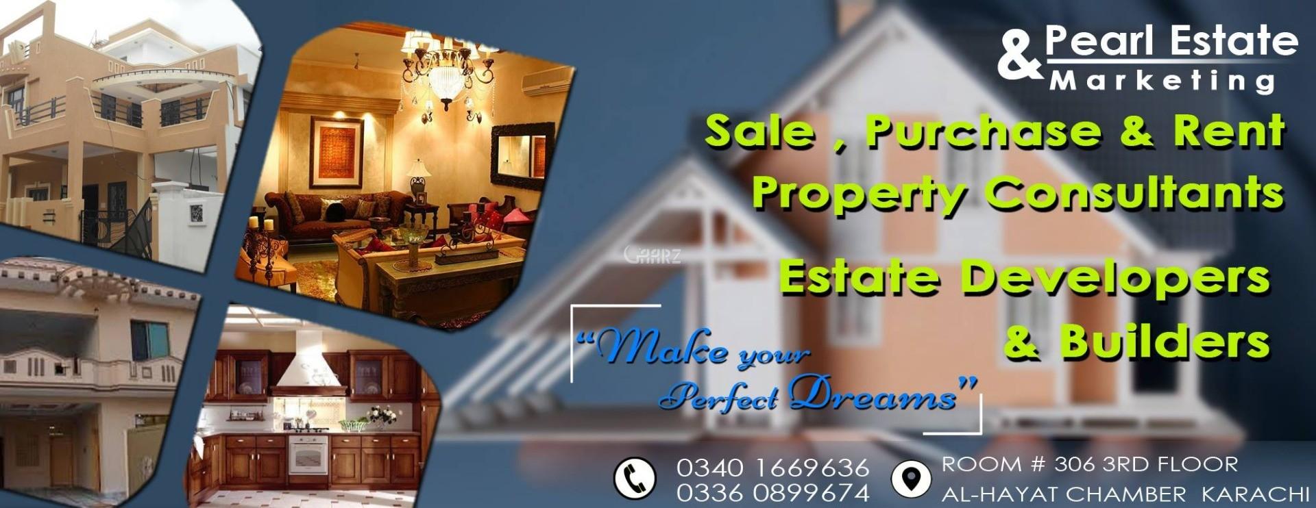 80 Square Yard Plot For Sale In Gulshan E Millat Karachi For