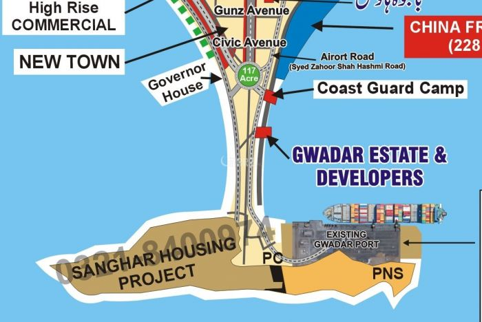 1 Kanal Commercial Land for Sale in Gwadar Sangar Housing Scheme