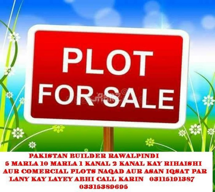 1 Kanal Plot for Sale in Islamabad Zone-2
