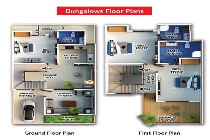 125 Square Feet House for Sale in Karachi Fazaia Housing Scheme