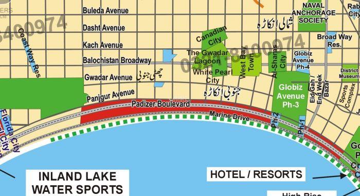 200 Kanal Commercial Land for Sale in Gwadar Mouza Chatti Janobi