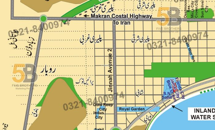 40 Kanal Commercial Land for Sale in Gwadar Mouza Paleri Sharqi