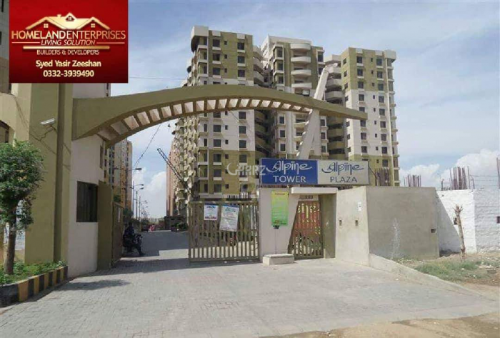1450 Square Feet Apartment for Sale in Karachi Gulistan-e-jauhar Block-10