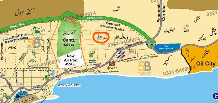 32 Kanal Commercial Land for Sale in Gwadar Mouza Derbela Shumali