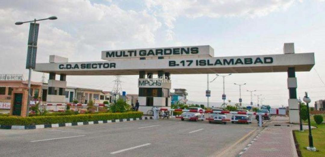 355 Square Yard Plot for Sale in Islamabad B-17 Multi Gardens