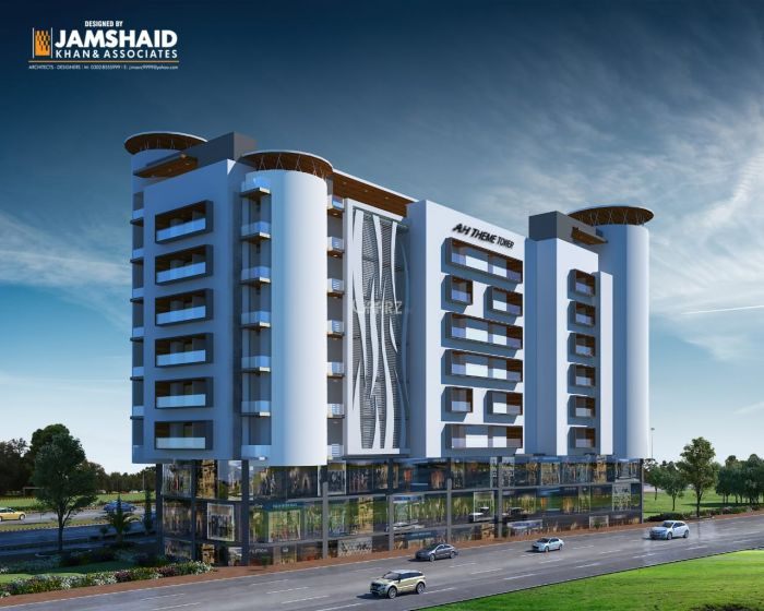 4.5 Kanal Commercial Shop for Sale in Rawalpindi Bahria Town Phase-8