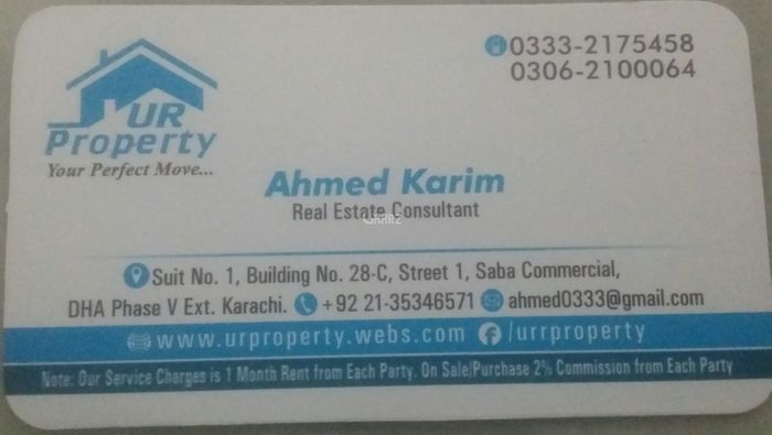 5500 Square Feet Commercial Office for Rent in Karachi Bukhari Commercial