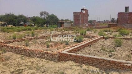 8 Marla Plot for Sale in Islamabad G-16