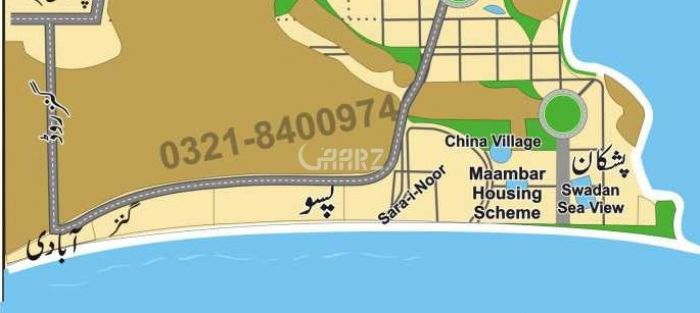 80 Kanal Commercial Land for Sale in Gwadar Passo