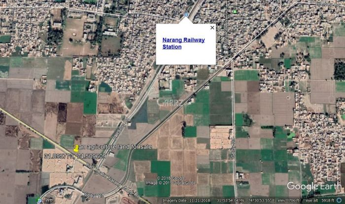 160 Marla Agricultural Land for Sale in Muridke Narang Mandi
