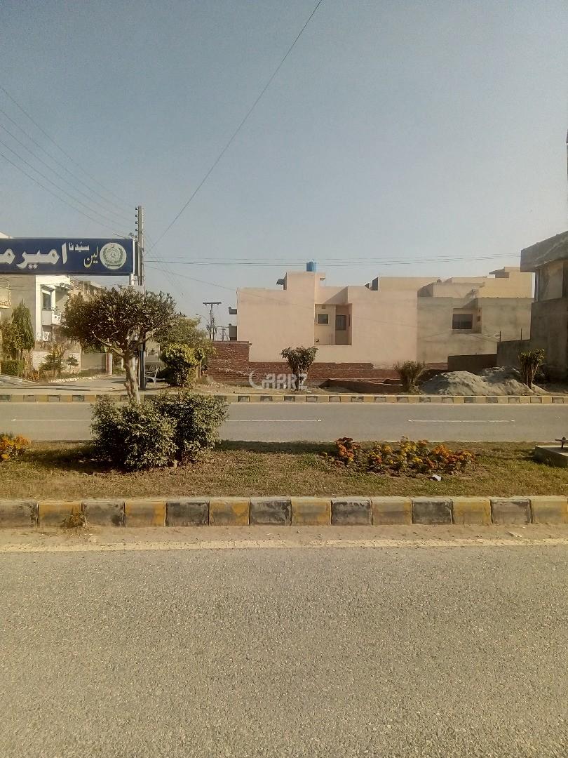 4 Marla Plot for Sale in Lahore Zaheer Villas