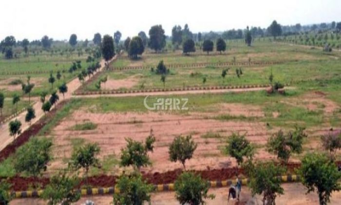 1 Kanal Plot for Sale in Islamabad Block C, Gulberg Residencia