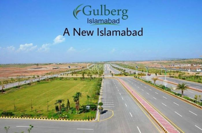 10 Marla Plot for Sale in Islamabad Block A, Gulberg Residencia,