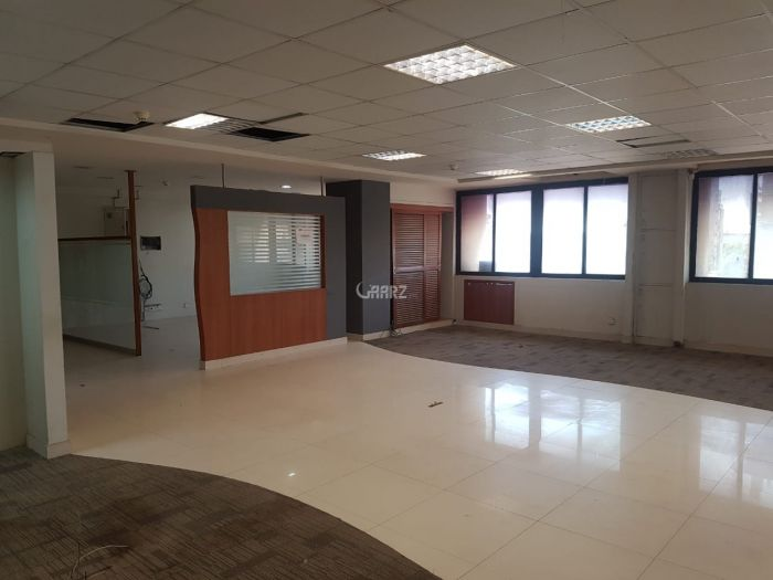 2000 Square Feet Commercial Office for Rent in Karachi Clifton Block-9