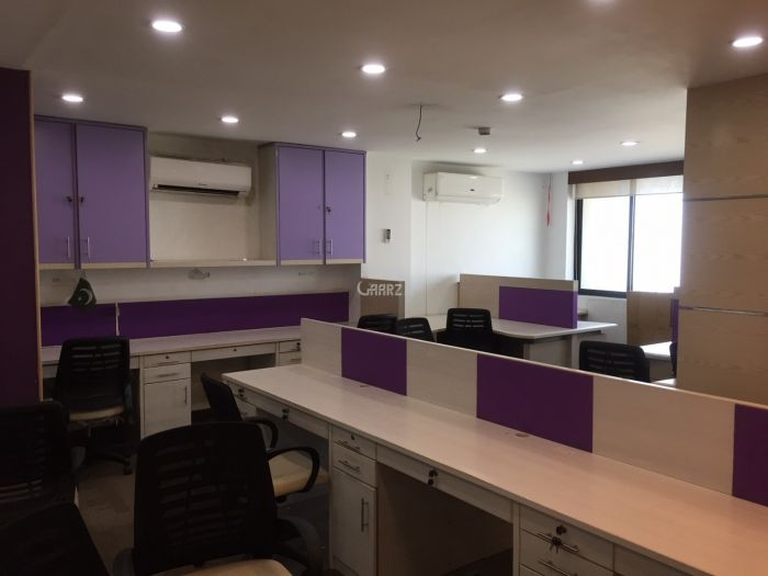 3000 Square Feet Commercial Office for Rent in Karachi Clifton Block-9