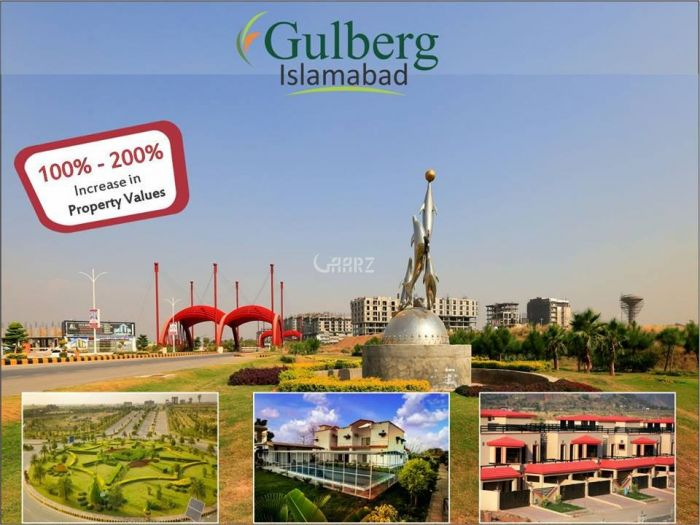 7 Marla Plot for Sale in Islamabad Block K, Gulberg Residencia,