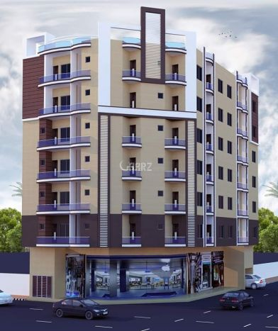 77 Square Yard Apartment for Sale in Karachi Sector-15-b, Scheme-33, Karachi, In Front Of Sadaf Society Gate