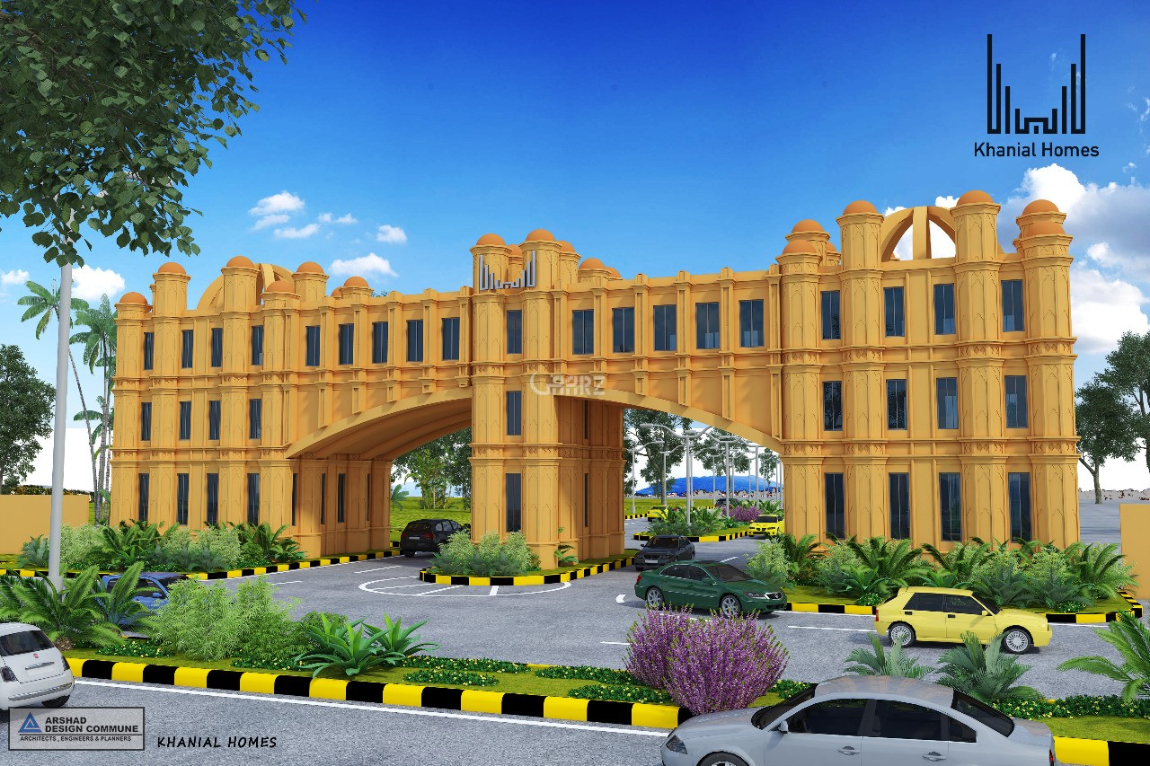 1 Kanal Plot for Sale in Rawalpindi Khanial Homes