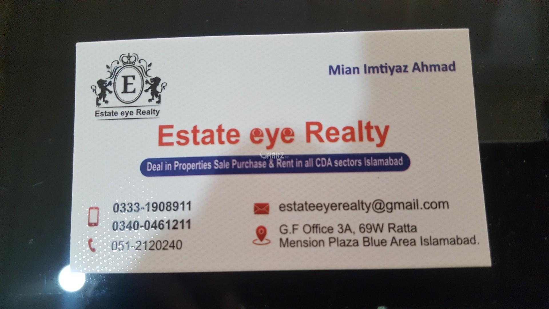 1800 Square Feet Plot for Sale in Islamabad F-17/2