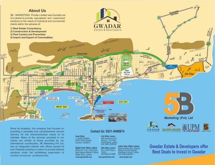 200 Kanal Commercial Land for Sale in Gwadar Marine Dr