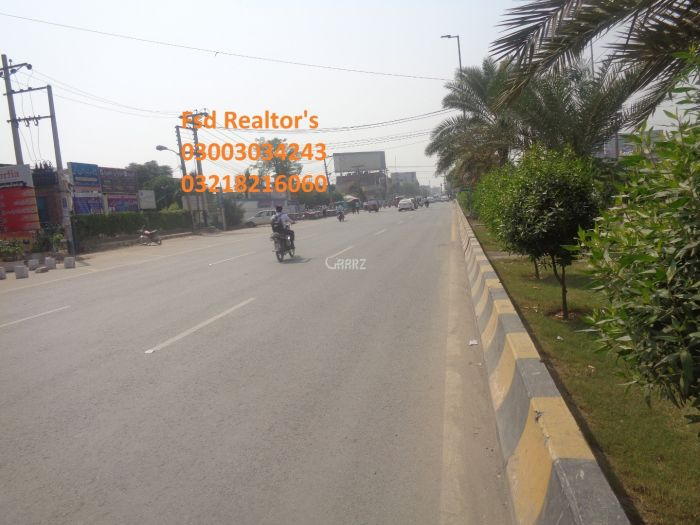 27 Marla Commercial Land for Rent in Faisalabad Kohinoor