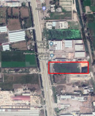 372 Marla Land for Sale in Gujranwala Near Gujranwala Toll Plaza