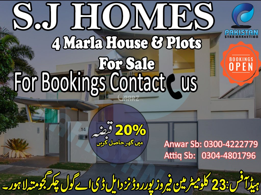 4 Marla Residential Land for Sale in Lahore Awan Market