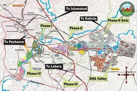 5 Marla Plot for Sale in Islamabad DHA Valley