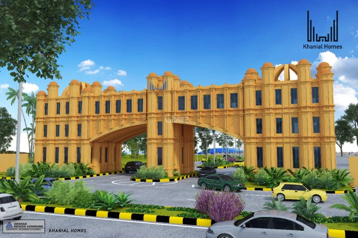 5 Marla Plot for Sale in Rawalpindi Khanial Homes