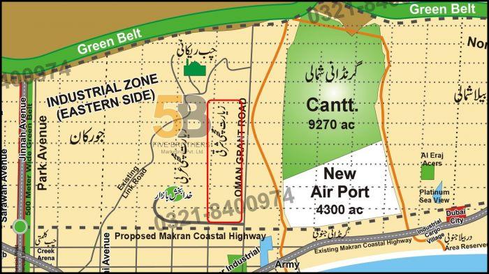 56 Kanal Commercial Land for Sale in Gwadar Mouza Ziarat Machhi Sharqi